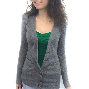 TCEC Angora And Wool Cardigan